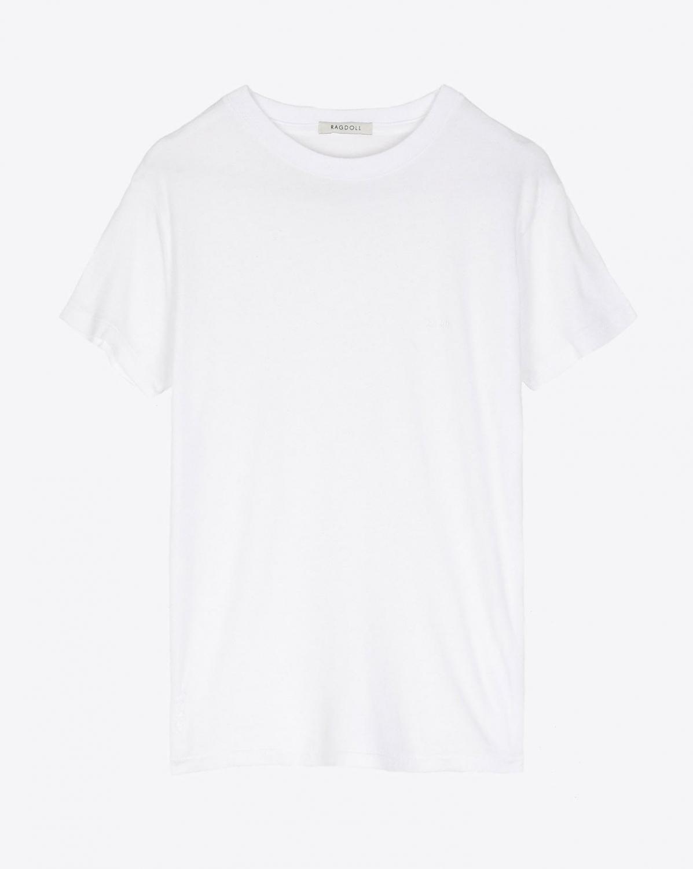 Tshirt Blanc Ragdoll LA
