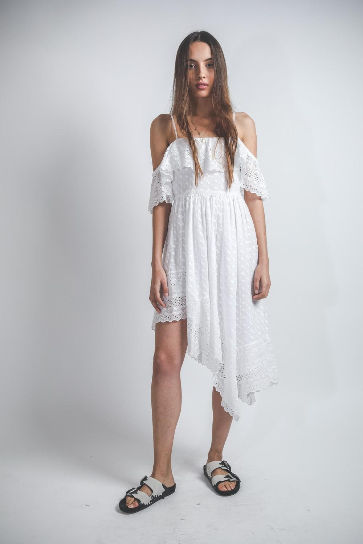 Robes Isabel Marant Etoile Timoria Blanche