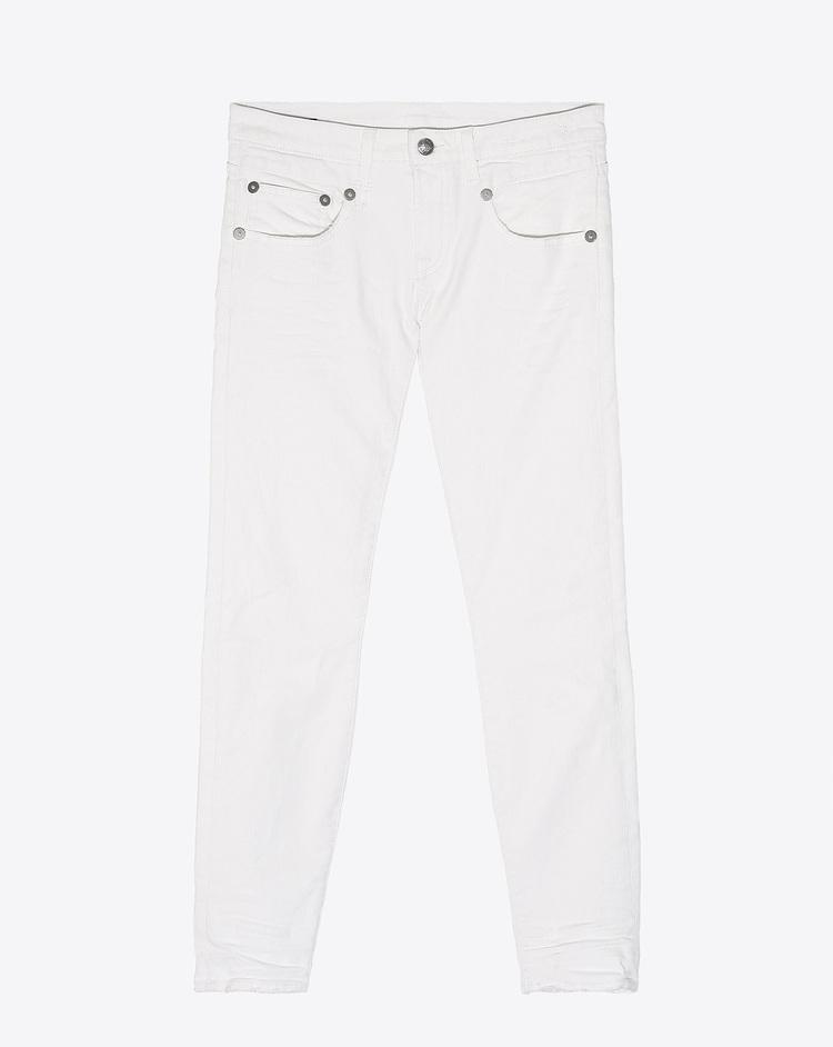 Jean R13 denim skinny white