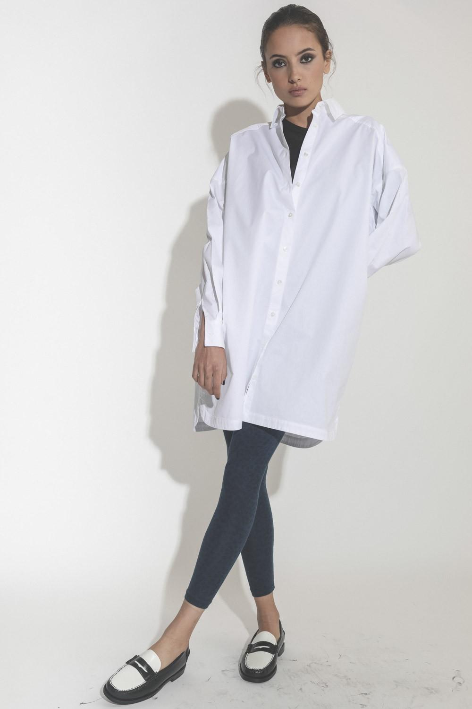 Robes Anine Bing Aubrey Dress White