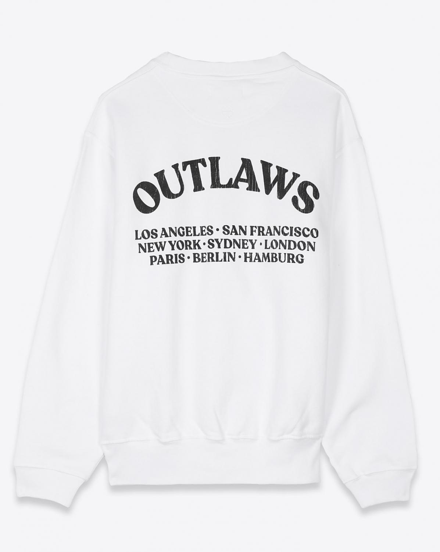 Sweats Anine Bing Ramona Sweatshirt Outlaw - White