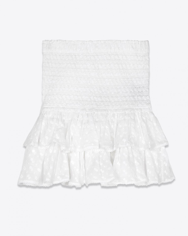Jupes Isabel Marant Etoile Jupe Tinaomi - White