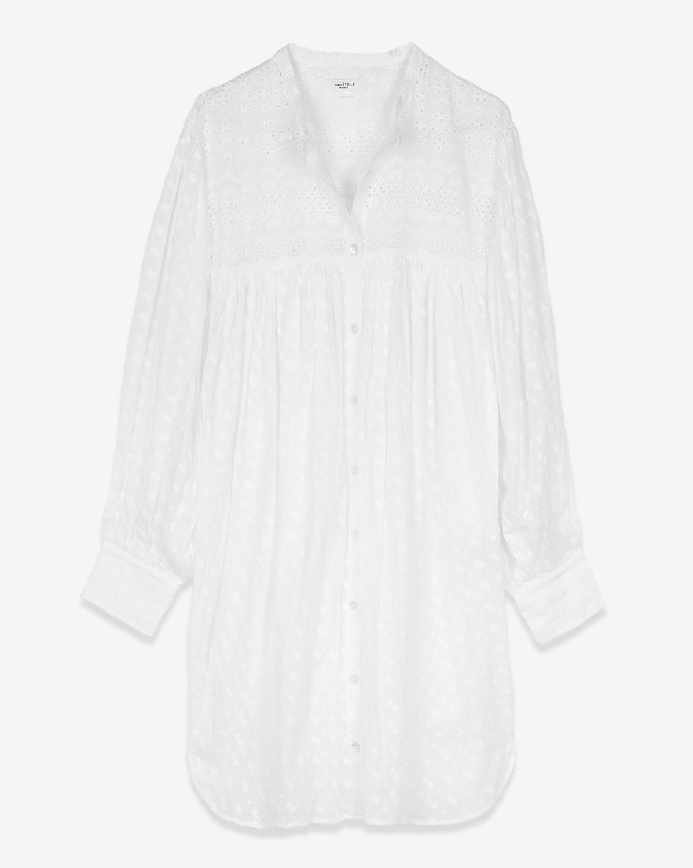 Robes Isabel Marant Etoile Tilalia - White