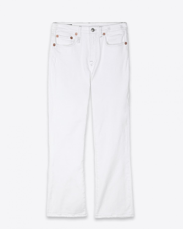 Jeans R13 Denim Collection Kick Fit - Bale White